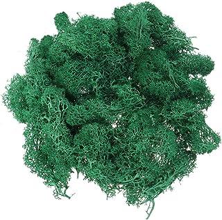Musgo artificial para decoración de jardín el banquete de boda y acuario(verde oscuro)