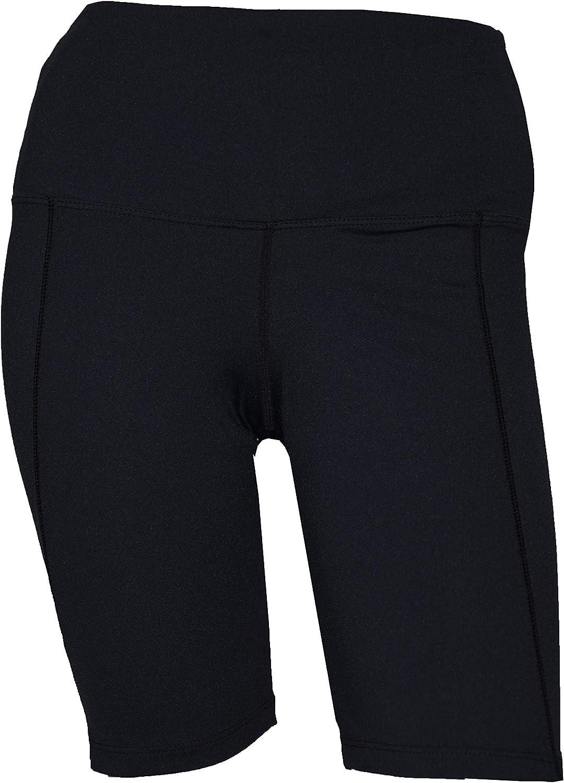 Private Island Women UPF 50+ Beach Board Shorts Swimsuit Hot Pants Pocket Bathing Swim Rash Guard Bottom