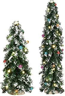 Department 56 Village Collections Accessories Festive Mountain Pine Tree Figurines, 8