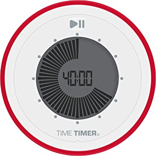 Time Timer TWIST 90-Minute Digital Countdown Clock — For Kids Classroom Learning, Homeschool Study Tool, Teachers Desk Clo...