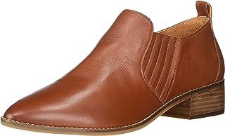 Lucky Brand Women's Lenci Ankle Boot, Brandy, 9. 5 US