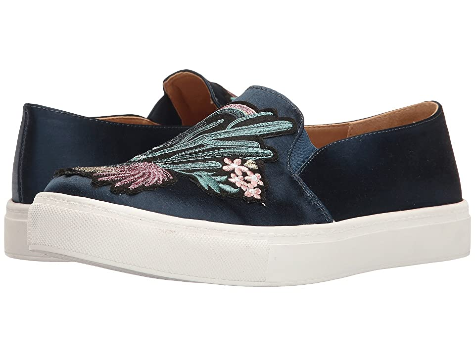 Dirty Laundry Joon Satin Fashion Sneaker (Navy) Women