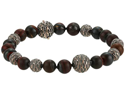 John Hardy Legends Naga Bead Bracelet with Gemstone (Silver/Bronze) Bracelet