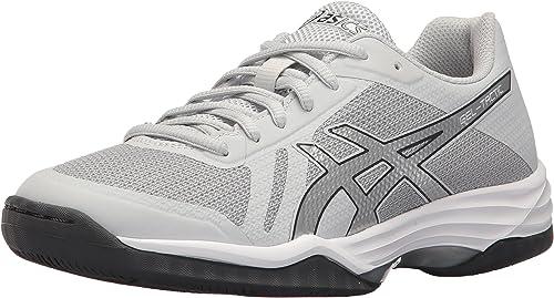 ASICS femmes Gel-Tactic 2 Volleyball chaussures, Glacier argent Dark gris, 13 Medium US