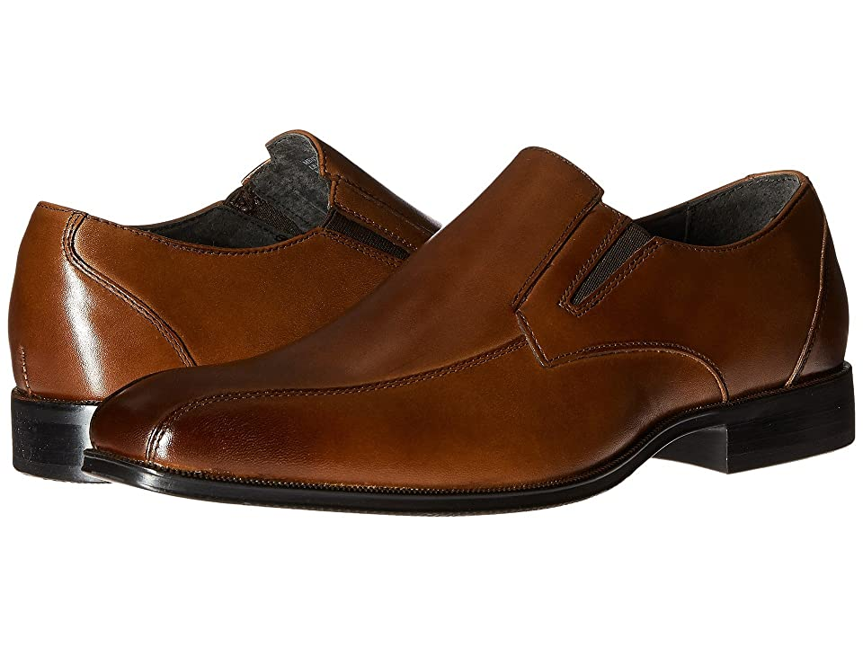 Stacy Adams Fairchild Bike Toe Slip On Loafer (Scotch) Men