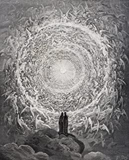 Posterazzi Paradiso by Dante Alighieri Canto XXXI Lines 1 to 3 Poster Print by by Gustave Dore 1832-1883 French Artist and Illustrator, (13 x 16)