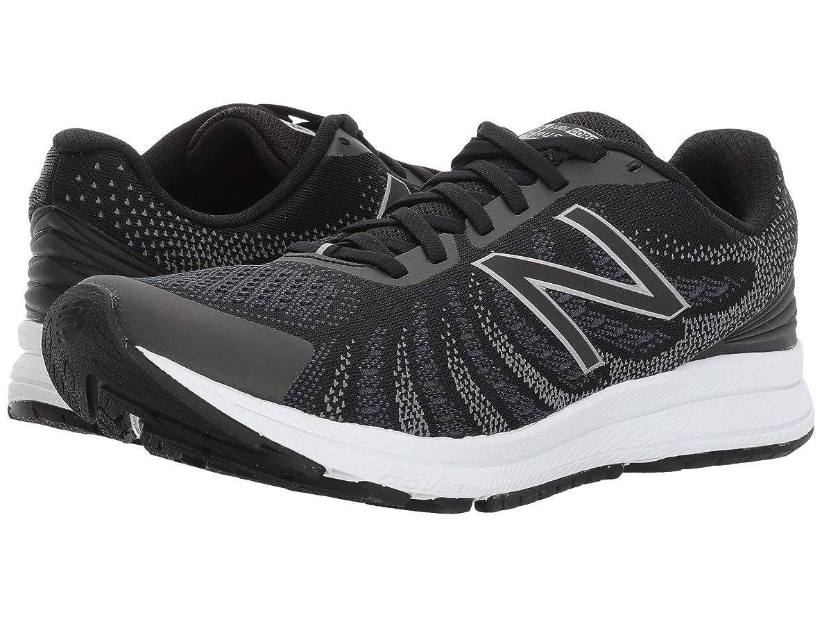 シロクマそれからまっすぐ(ニューバランス) New Balance レディースランニングシューズ?スニーカー?靴 Rush V3 Black/Thunder/White 11 (28cm) B - Medium