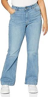Jacqueline de Yong NOS Women's Jdyelia Flared Rw DNM Noos Jeans