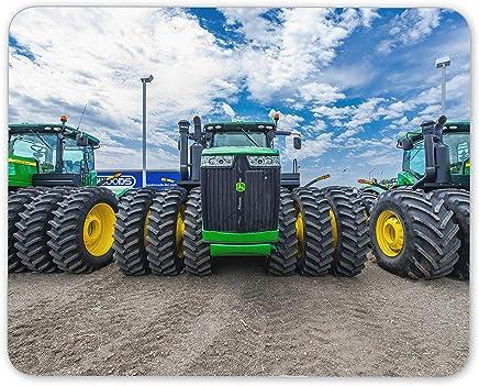 Tractores verde tapete de ratones Cojín - maquinaria agrícola regalo del ordenador Agricultura # 15545