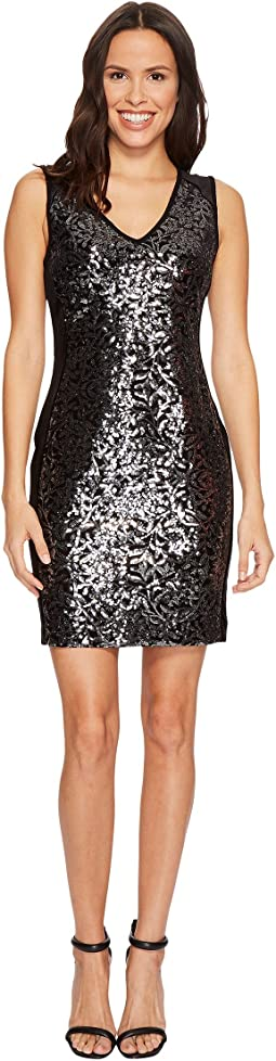 Karen Kane - Sequin Sheath Dress