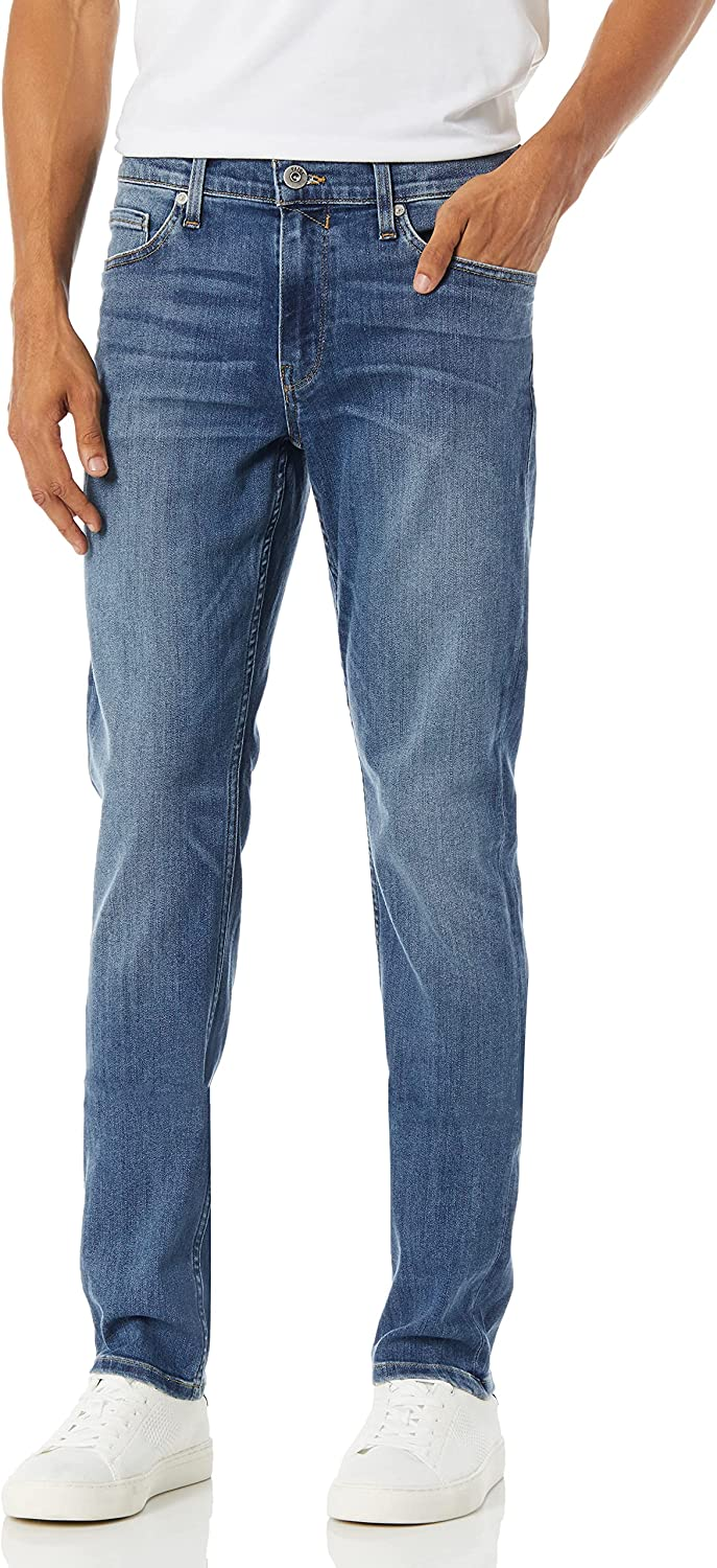 PAIGE Men's Very popular Lennox Slim Mullholland Rapid rise in Wash Jeans