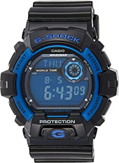Casio G-Shock Men's Digital Dial Silicone Band Watch