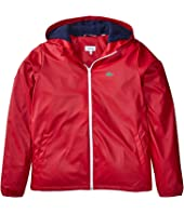 Lacoste Kids - Windbreaker with Fleece Lining (Little Kids/Big Kids)