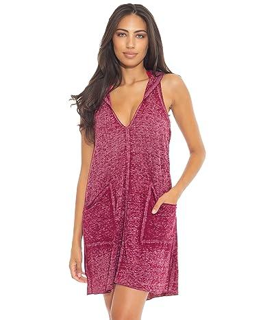 BECCA by Rebecca Virtue Beach Date Hooded T-Shirt Dress Cover-Up