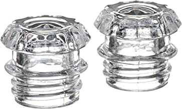 COLETTI Coffee Percolator Glass Top Replacement - (Pack Of 2) Clear
