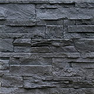 Sample Of Manufactured Stone Veneer Odyssee Charcoal