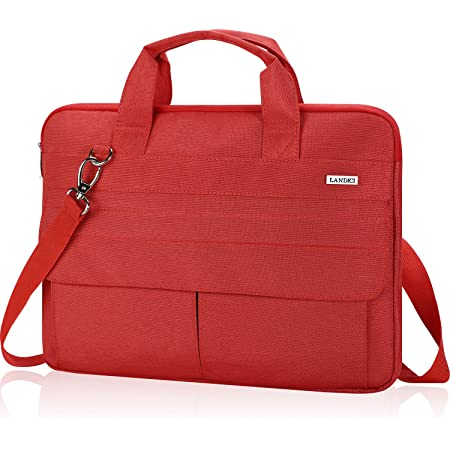 Snow Silhouette Aerial View Laptop Shoulder Messenger Bag Case Sleeve for 14 Inch to 15.6 Inch with Adjustable Notebook Shoulder Strap