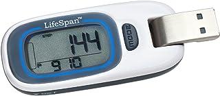 LifeSpan PD1000 MyStride Activity Tracker, Small (White)