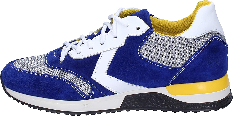 Dabliu Fashion-Sneakers Mens Suede bluee
