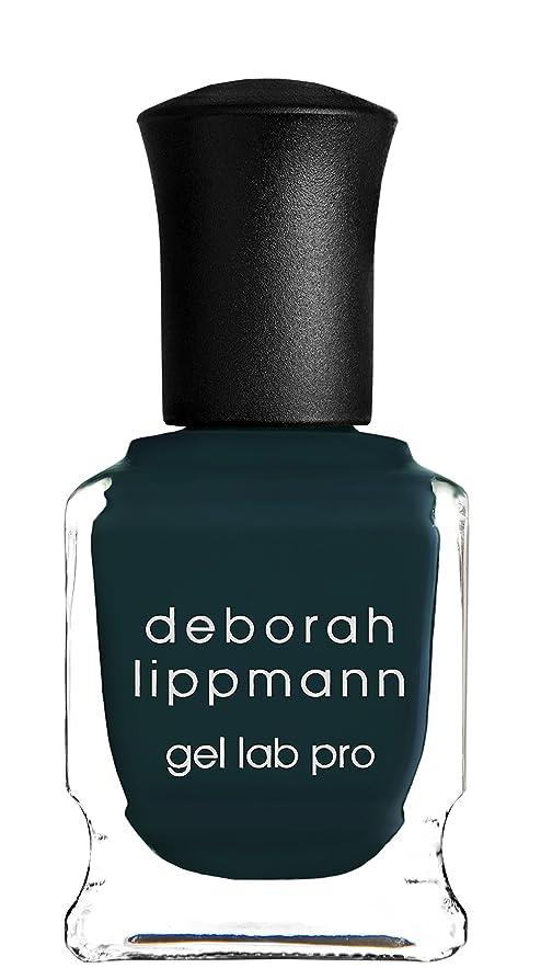 ナインへ信頼できるスリップ[Deborah Lippmann] デボラリップマン ジェルラボプロ ワイルド シング(カラー:カーキグリーン)/ WILD THING ジェルポリッシュ 15mL