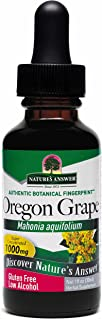 Nature's Answer Oregon Grape Root with Organic Alcohol, 1-Fluid Ounce