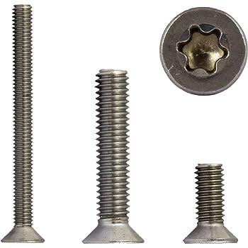 M3 x 4 mm Senkkopfschrauben mit Innensechskant Vollgewinde Gewindeschrauben rostfrei ISO 10642 Senkkopf Schrauben - DIN 7991 Eisenwaren2000 Edelstahl A2 V2A 10 St/ück