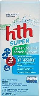 hth Pool Shock Super Green to Blue Shock System Kit (52009)