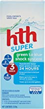 hth Pool Shock Super Green to Blue Shock System Kit (52009)