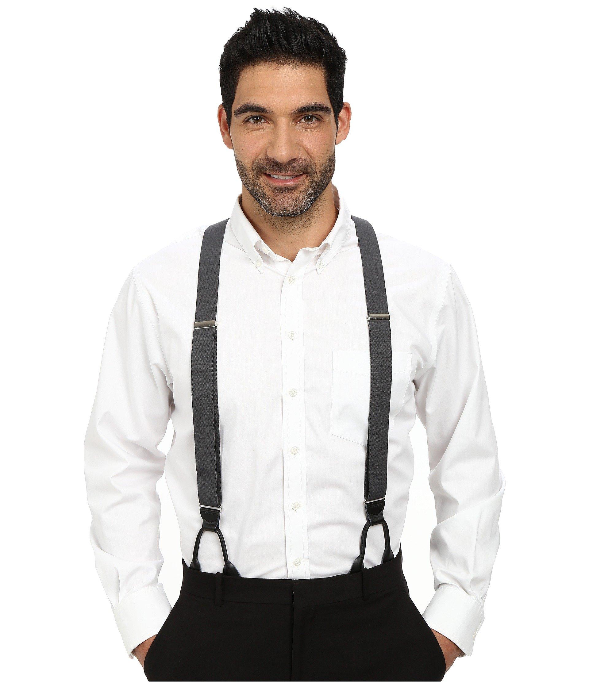 Corbata para Hombre Stacy Adams Button-On Suspenders XL  + Stacy Adams en VeoyCompro.net