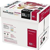 NAVIGATOR Presentation - Papel multifunción, 5 paquetes de 2500 hojas (A4, 100 g/m2), color blanco