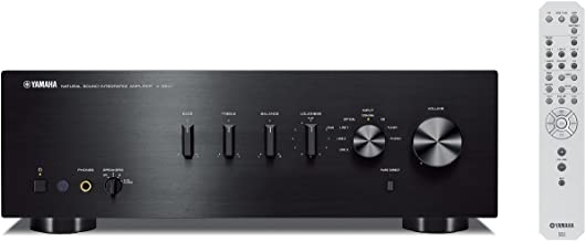 Yamaha A-S501 - Amplificador integrado estéreo de 120 W por canal, color negro