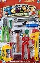 Amitasha Mechanic Automobile Tools Kit Set for Kids (Multicolour) - (Pack of 10)