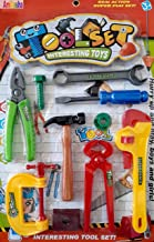 Amitasha Mechanix Tools Kit Toys Set for Kids (Multicolour) - (Pack of 10)