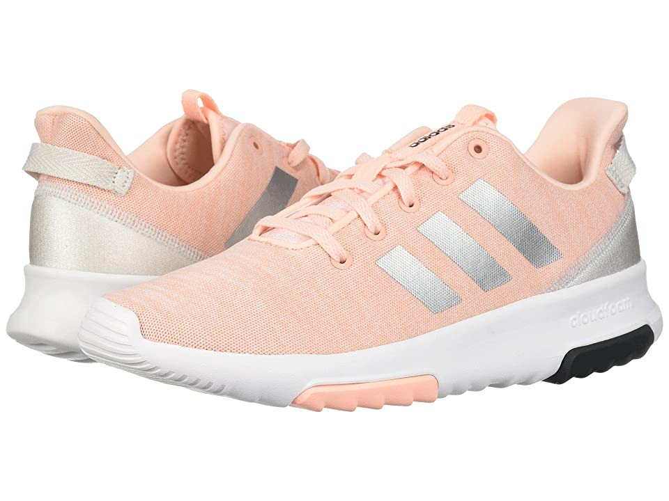 adidas Kids Cloudfoam Racer TR (Little Kid/Big Kid) (Haze Coral/Silver/White) Kids Shoes