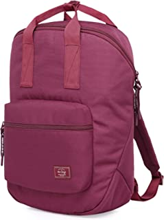 TRAVEEZA Lightweight Travel Backpack Bag, Fits 15.6 Laptop, 15.7x9.4x5.5in