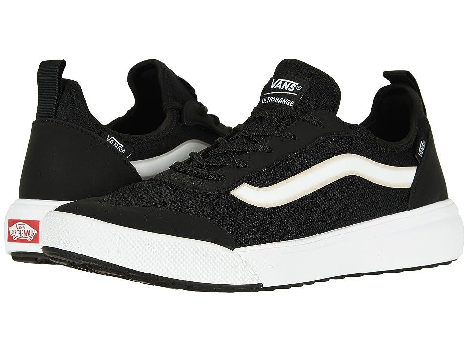 Vans UltraRange AC (Black/True White) Skate Shoes