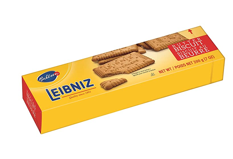 Bahlsen Leibniz Butter Biscuit Cookies (8 boxes) | Our classic original buttery biscuits (7 ounce boxes)