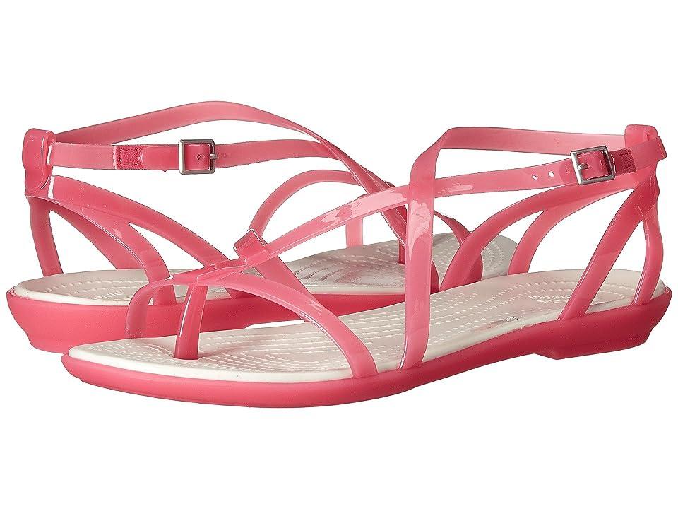 Crocs Isabella Gladiator Sandal (Paradise Pink/Oyster) Women