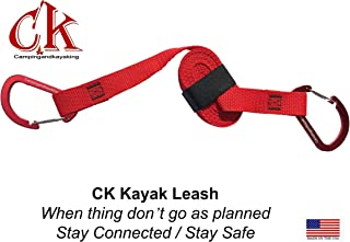 Campingandkayaking CK 8 FT Kayak Leash, Because Things Don't Always go as Planned. Stay Safe – Stay Connected.
