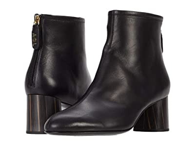 AGL Back Zip Ankle Bootie (Black) Women