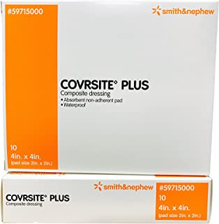 Covrsite Plus Composite Dressings - 4 x 4 - Box of 10