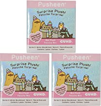 The Neko Cafe Pusheen Blind Box Series #11: Winter Wonderland, 3-Pack Bundle