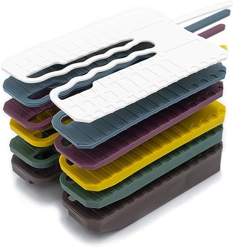 INNONEXXT® Lot de 300 entretoises de qualité supérieure avec agrafe de montage 60 x 45 mm Kit 1, 2, 3, 4, 5, 10mm.