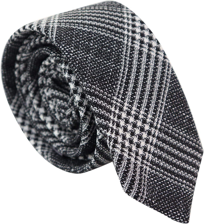 Mens Tie Hankie Set Check Tweed Classic Vintage 1920s Blinders Gatsby