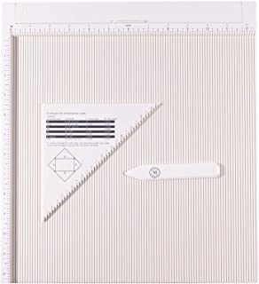 Martha Stewart Crafts Scoring Board Tool for Making Cards, Envelopes, Giftboxes and More, Off-White, 12
