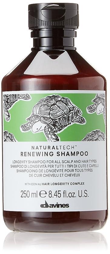保証二早くダヴィネス Natural Tech Renewing Shampoo (For All Scalp and Hair Types) 250ml/8.45oz並行輸入品