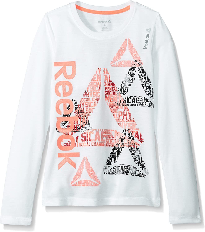 Reebok Girls' Big free Delta Tee Definition favorite Ls