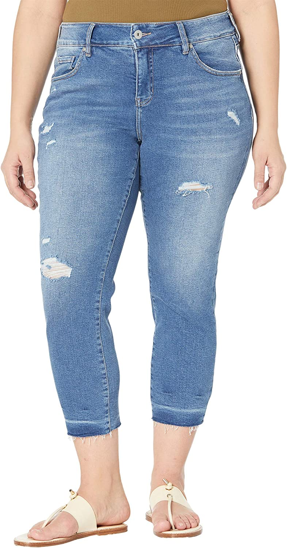 Jag Jeans Women's Plus Size Carter Mid Rise Girlfriend Jean