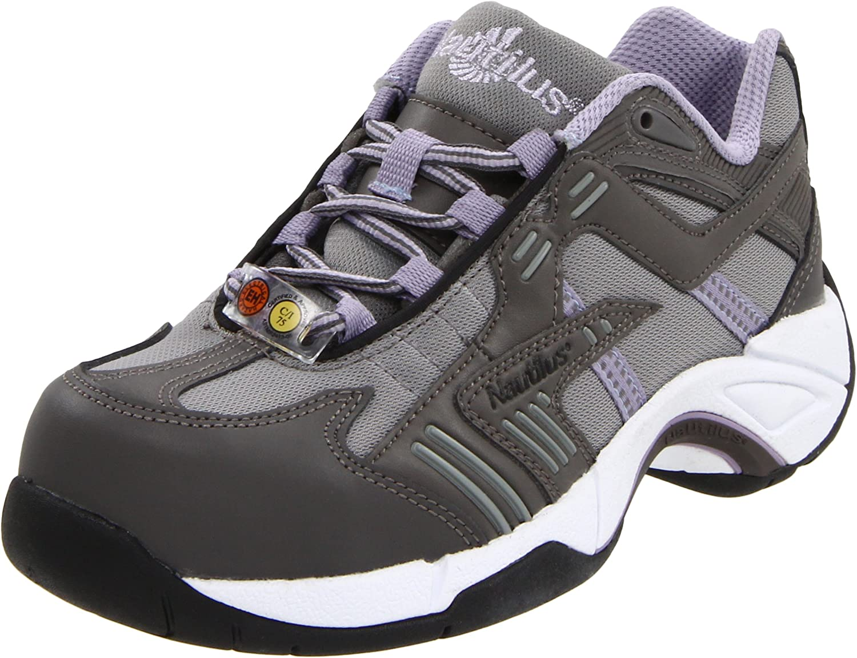 Nautilus Safety Footwear Women's Alloy Lite Safety Toe EH Women's Grey Lavender