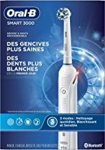Oral-B Pro 3000 3D White Electric Toothbrush, Powered by Braun
